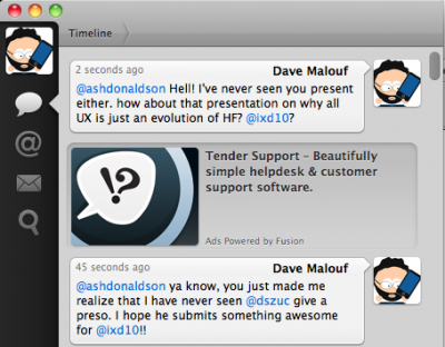 Image from Tweetie--A MacOS Twitter Client